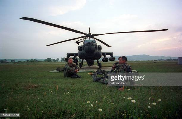 Albania Tirana The american Forces used the international albanian airport as airbase for humanitarian Aid and reconnaissance flights But the...