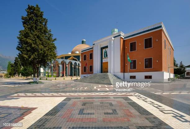 albania, tirana, world bektashi center - tirana stockfoto's en -beelden