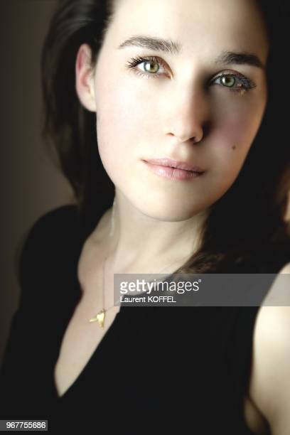 Albanian Actress Arta Dobroshi pictured in Paris festival in France on April 15 2009 CLEARANCE REQUIRED BEFORE ANY USAGE CONSULT GAMMA