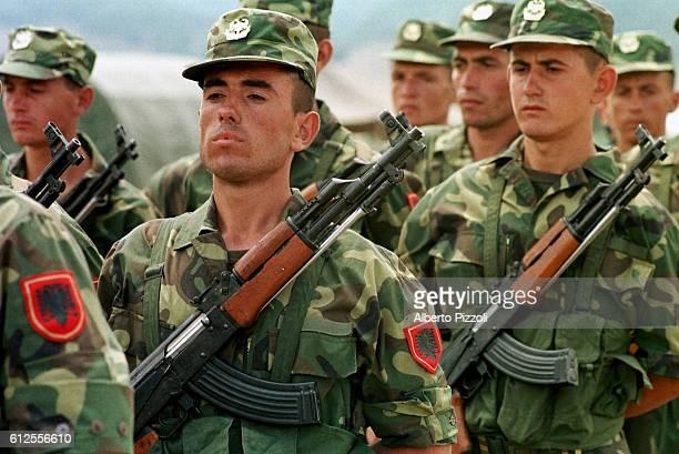 Albanian infantry men.
