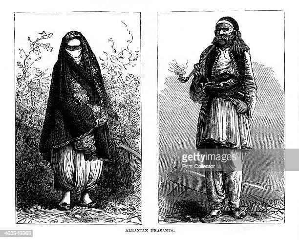 Albanian peasants 19th century
