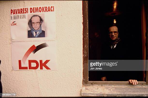 Albanians living in Kosovo proclaimed a republic and in 1992 a parliament was set up and a President designated its leader and father of the nation...