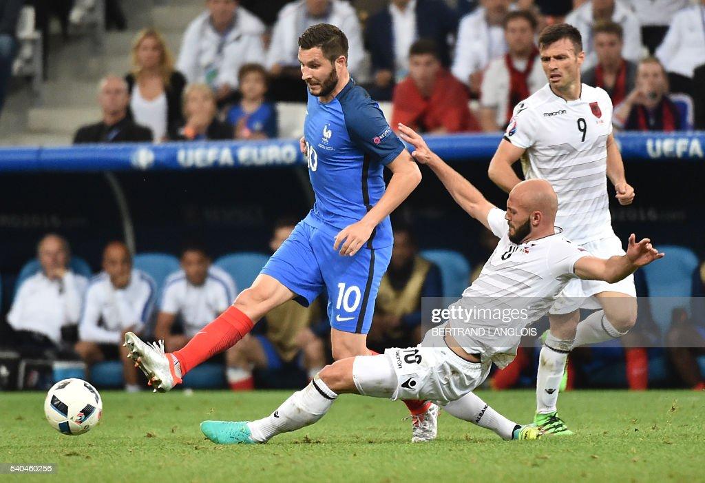 FBL-EURO-2016-MATCH15-FRA-ALB : News Photo