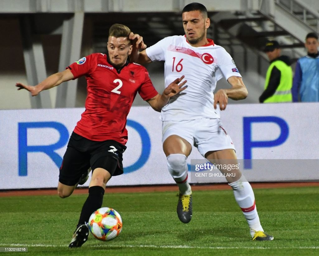 FBL-EURO-2020-QUALIFIER-ALB-TUR : News Photo