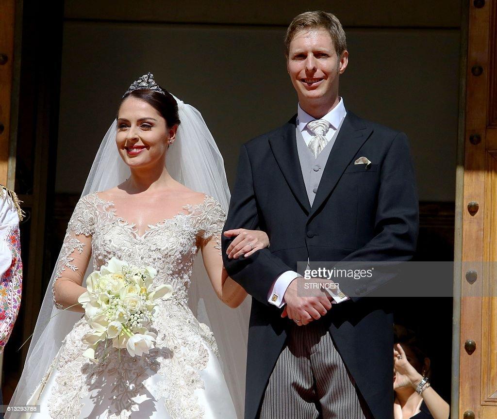 ALBANIA-ROYALS-WEDDING-ZOGU II : News Photo