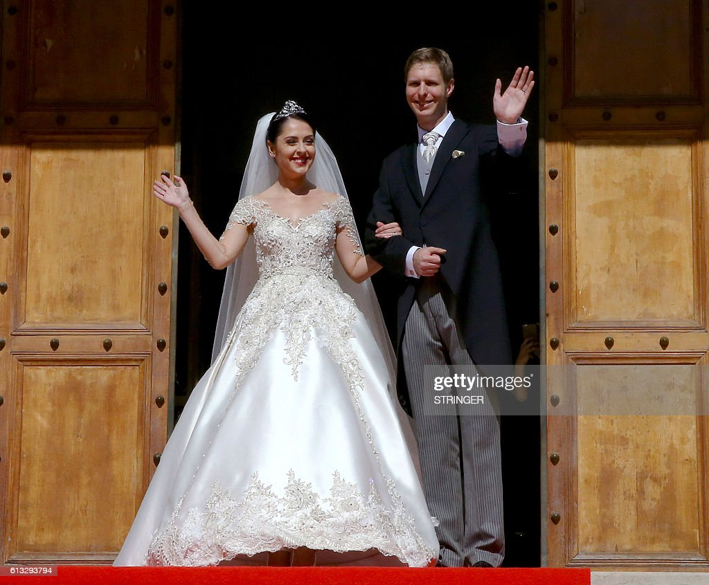 ALBANIA-ROYALS-WEDDING-ZOGU II : News Photo