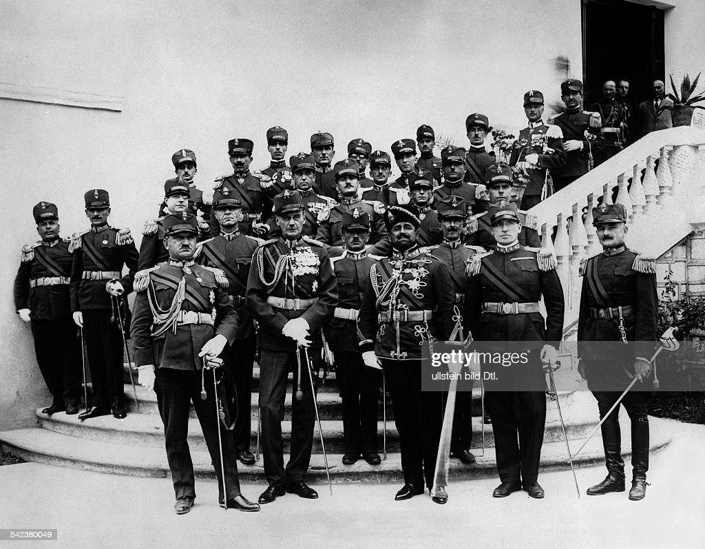 Albanien Die Koeniglich Albanische Garde Von Koenig Zogu I In Der
