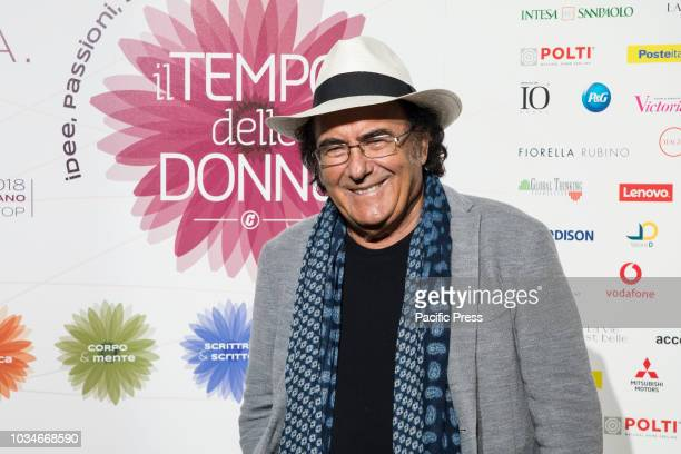 Albano Carrisi guest at the event 'Il tempo delle donne' organized by Corriere in Milan