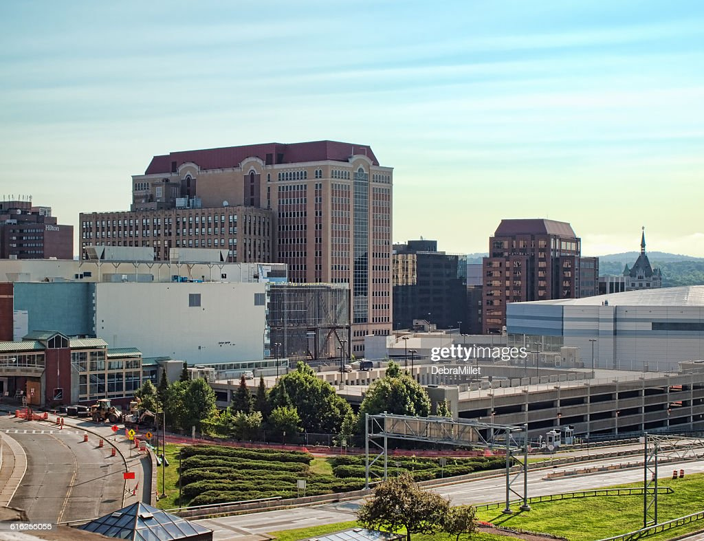 Albany cityscape : Stock Photo