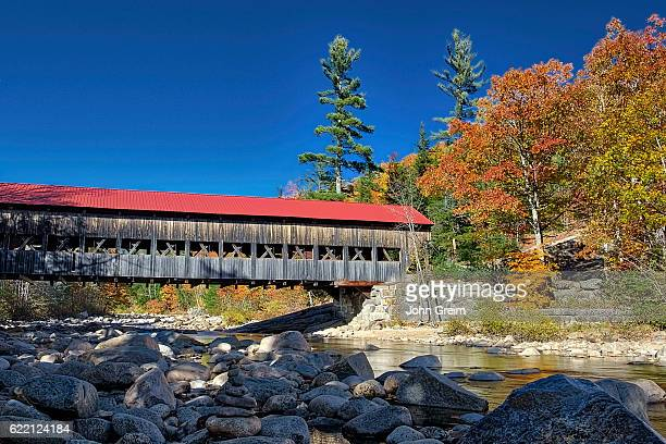 Albany Covered Bridge spanning the Swift River