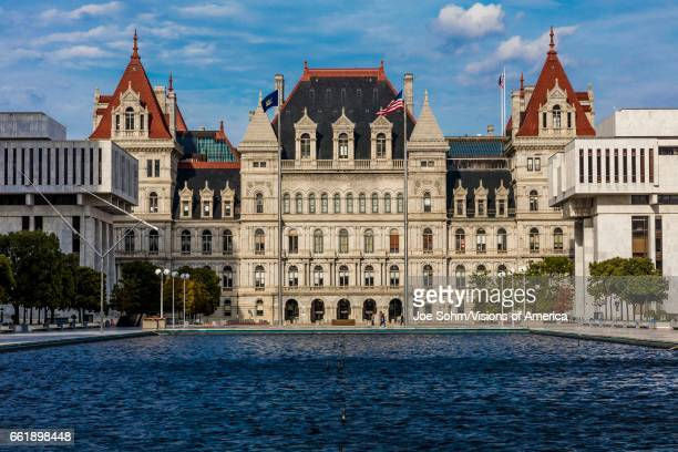 Albany New York State Capitol and government buildings