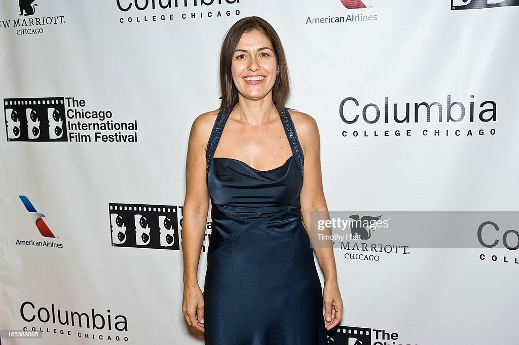 Albena Dodeva attends the 'H4' premiere at AMC River East Theater on October 19, 2013 in Chicago, Illinois.