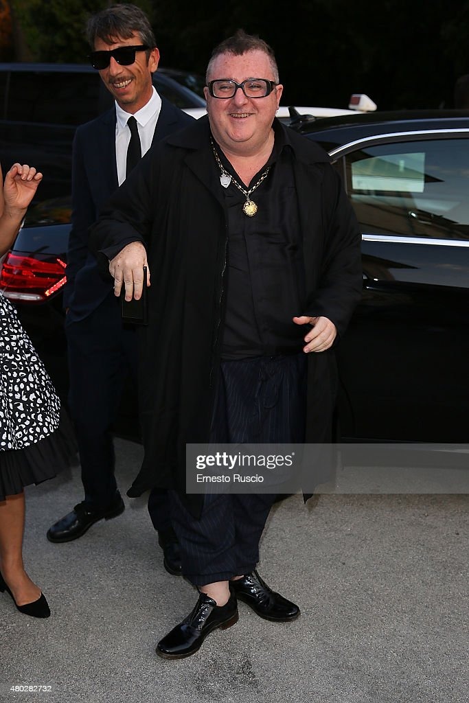 Alber Elbaz attends Coulture/Sculpture Vernissage Cocktail honoring Azzedine Alaia in the history of fashion at Galleria Borghese at Galleria Borghese on July 10, 2015 in Rome, Italy.