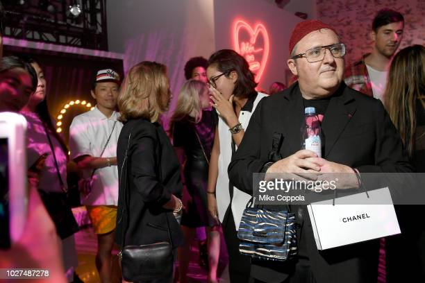 Alber Elbaz attends the Alber Elbaz X LeSportsac New York Fashion Week Party at Gallery I at Spring Studios on September 5 2018 in New York City