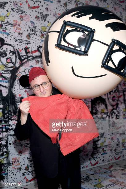 Alber Elbez attends the Alber Elbaz X LeSportsac New York Fashion Week Party at Gallery I at Spring Studios on September 5 2018 in New York City