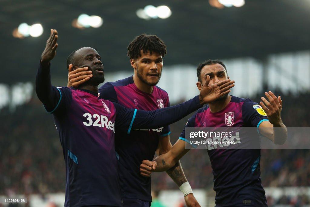Stoke City v Aston Villa - Sky Bet Championship : News Photo