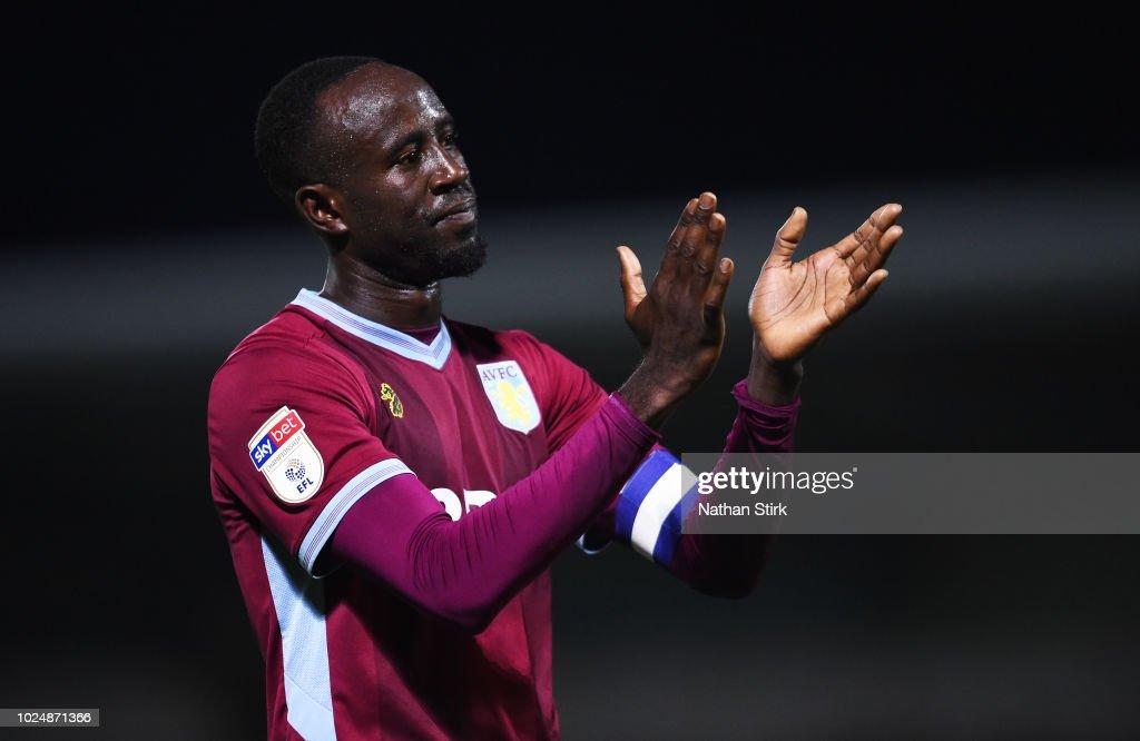 Burton Albion v Aston Villa - Carabao Cup Second Round : News Photo