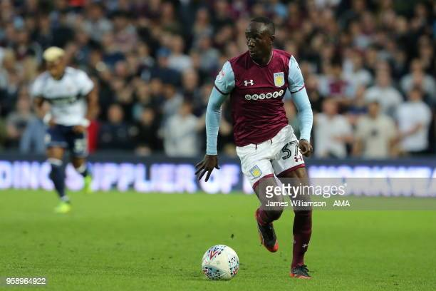 Albert Adomah of Aston Villa during the Sky Bet Championship Play Off Semi FinalSecond Leg match between Aston Villa and Middlesbrough at Villa Park...
