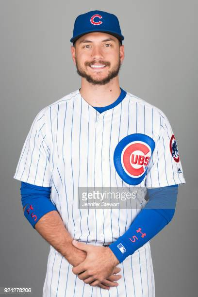 Albert Almora Jr #5 of the Chicago Cubs poses during Photo Day on Tuesday February 20 2018 at Sloan Park in Mesa Arizona