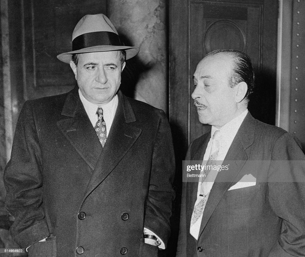 Albert Anastasia , and his cou...