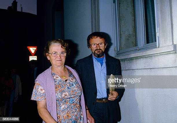 Albert and Monique Villemin the parents of JeanMarie Villemin and grandparents of Gregory Villemin Their grandson Gregory was found murdered on...