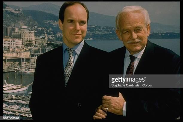 Albert and Rainier of Monaco
