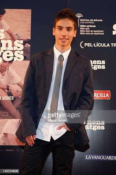 Albert Baro attends 'Nens Salvatges' Ninos Salvajes' Premiere film on May 24 2012 in Barcelona Spain