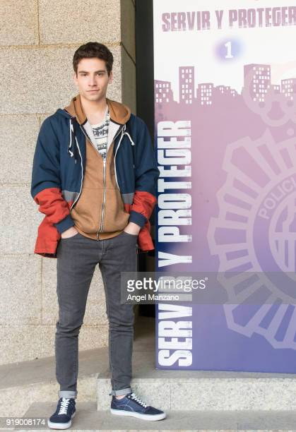 Albert Baro attends 'Servir Y Proteger' New Characters Presentation on February 16 2018 in Madrid Spain
