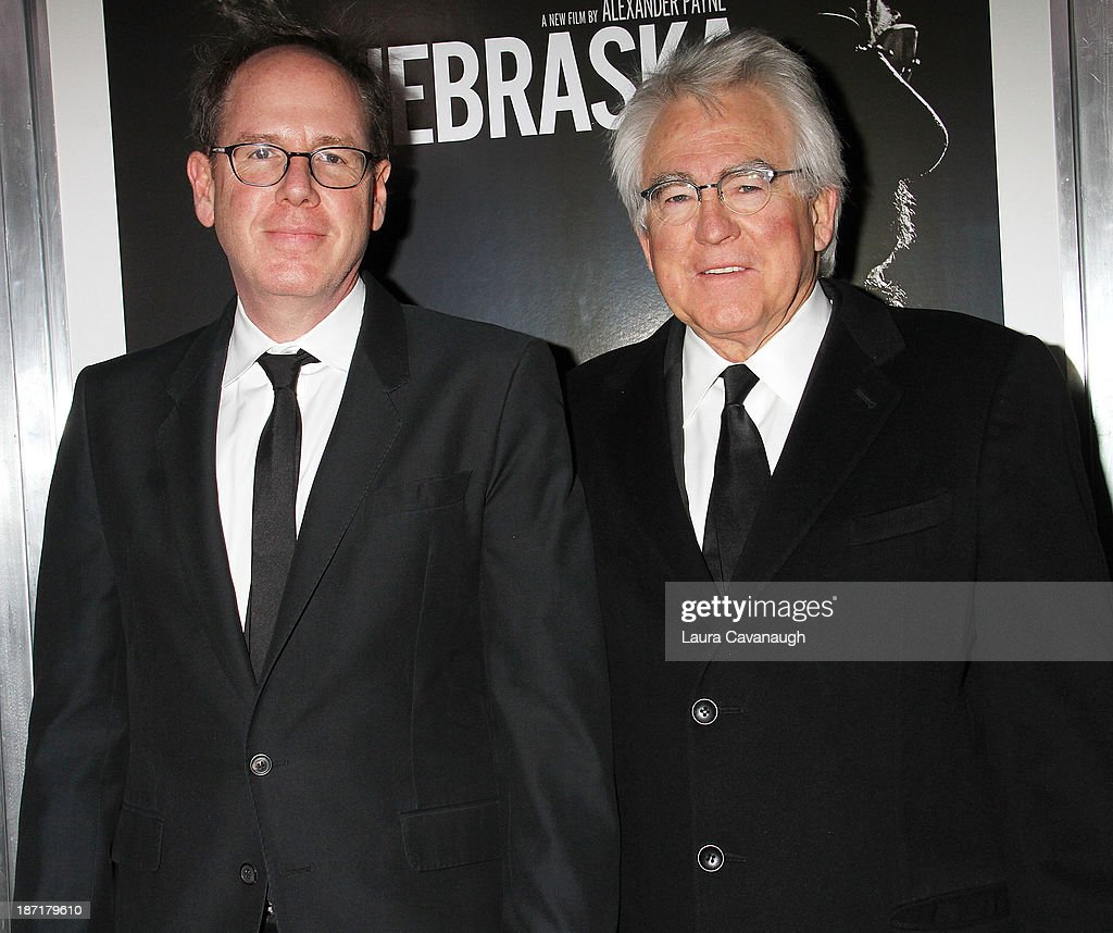 Albert Berger and Ron Yerxa attend the 'Nebraska' screening at Paris Theater on November 6, 2013 in New York City.