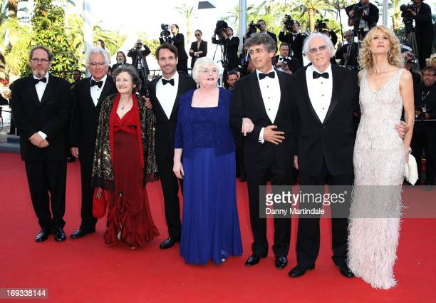 Albert Berger Ron Yerxa Angela McEwan Will Forte June Squibb Alexander Payne Bruce Dern and Laura Dern attends the Premiere of 'Nebraska' during the...