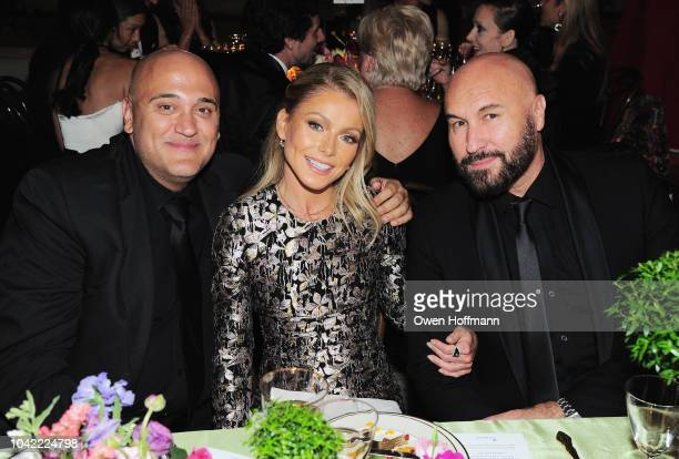Albert Bianchini Kelly Ripa and Serge Normant attend the New York City Ballet 2018 Fall Fashion Gala at David H Koch Theater at Lincoln Center on...