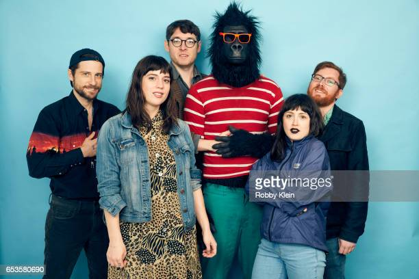Albert Birney, Kentucker Audley, Meghan Doherty, Sylvio Bernardi and Tallie Medel of 'Sylvio' poses for a portrait at The Wrap and Getty Images SxSW...