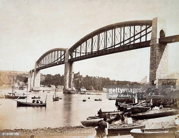 Albert Bridge possibly Brunel's most successful iron bridge
