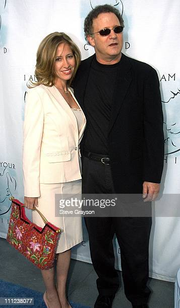 Albert Brooks and Wife Kimberly during A Night of Comedy to Benefit I AM YOUR CHILD Foundation at Hollywood Highland in Los Angeles California United...