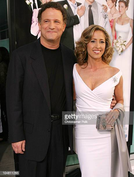 Albert Brooks and wife Kimberly Shlain during Premiere of The InLaws at Cinerama Dome in Hollywood California United States