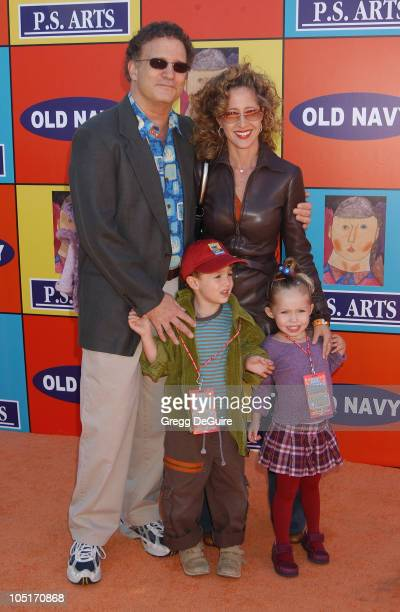 Albert Brooks wife Kimberly son Jakey and daughter Claire