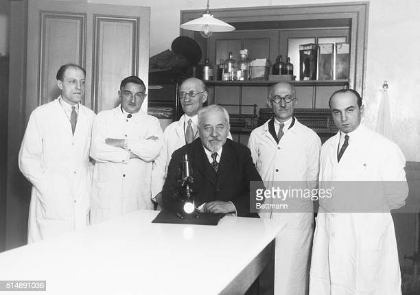 Albert Calmette World authority on snake venom discoverer of BCG vaccine against tuberculosis in his laboratory