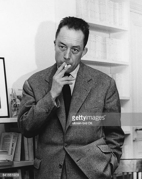 Albert Camus Albert Camus 1913 - 1960 Writer, France - around 1955