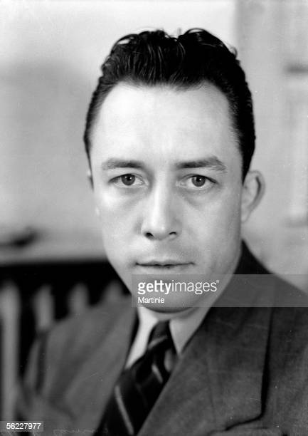 Albert Camus French writer in 1947