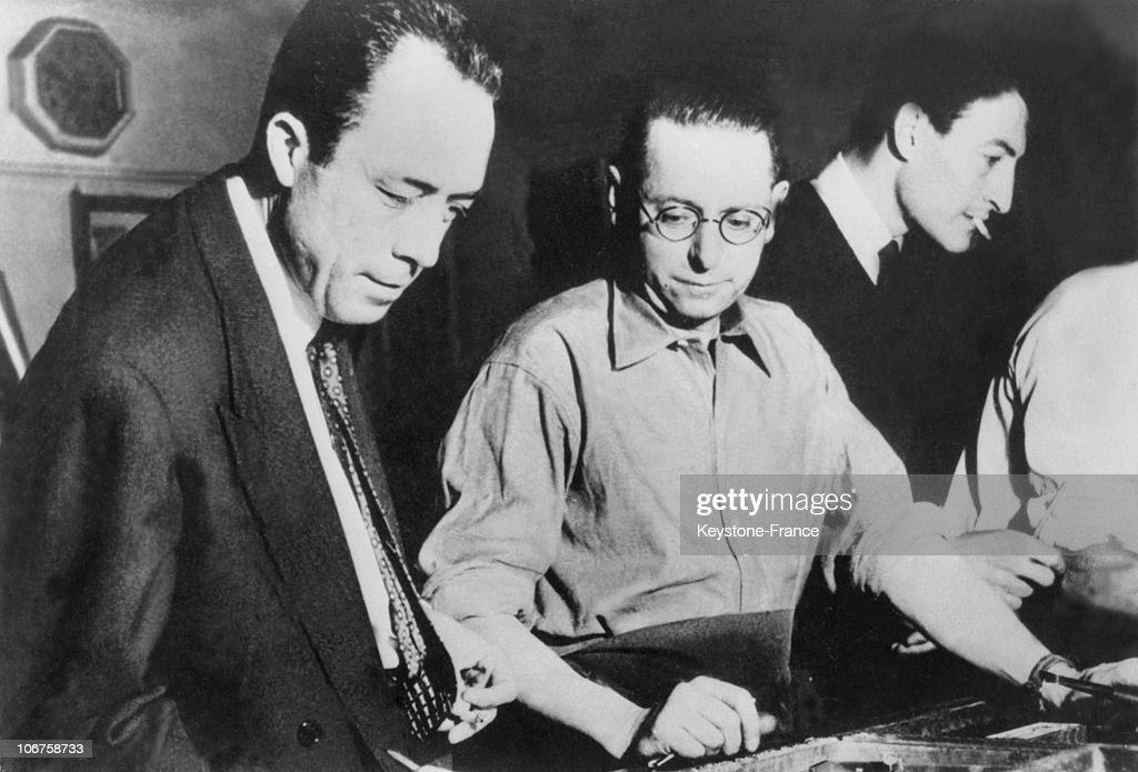Albert Camus : News Photo