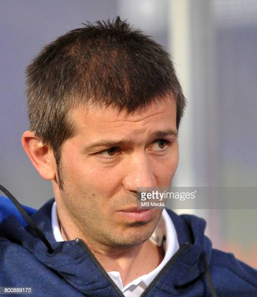 Albert Celades during the UEFA European Under21 match between Serbia and Spain at Arena Bydgoszcz on June 23 2017 in Bydgoszcz Poland