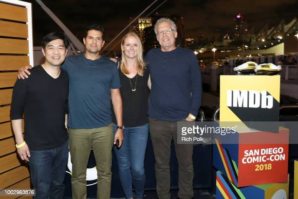 Albert Cheng Graham Roland Lindsey Springer and Carlton Cuse attend the #IMDboat Party At San Diego ComicCon 2018 Sponsored By Atom Tickets at The...