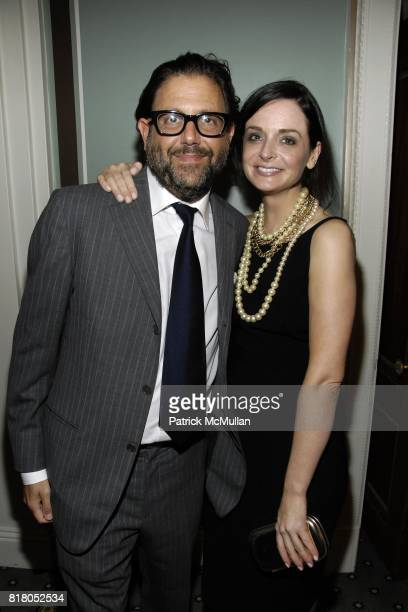 Albert Churchill and Annie Churchill attend Humane Society of the United States' MAKE HISTORY GALA at Pierre Hotel on September 22 2010 in New York...