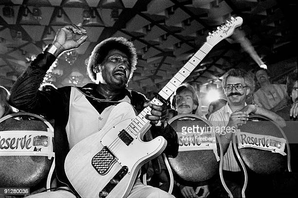 Albert Collins performs at the Montreux Jazz Festival Montreux Switzerland 1980