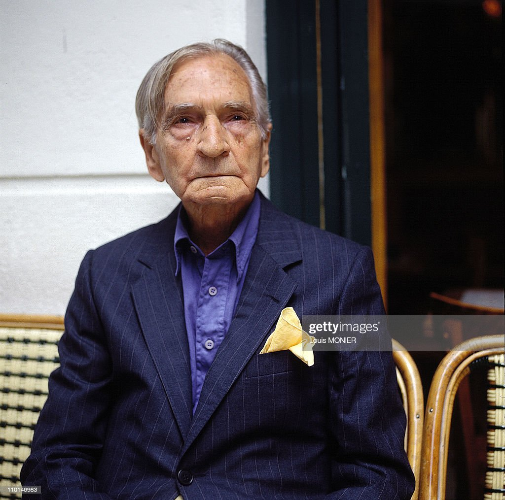 Albert Cossery, Writer In France In June, 1994. : News Photo