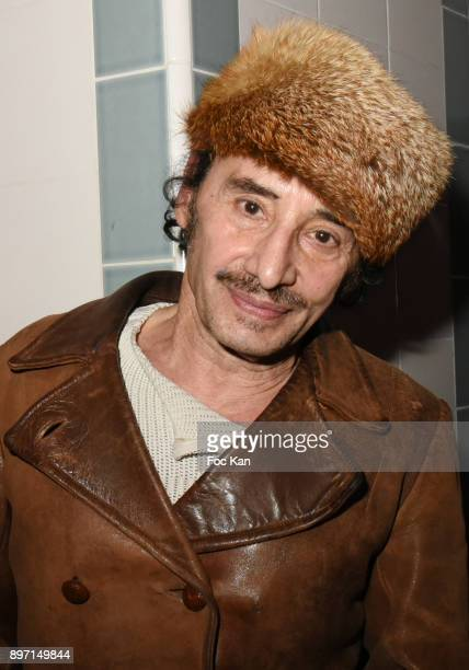 Albert de Paname attends the 'Le Temps Retrouve' Party 2 At Les Bains In Paris on December 21 2017 in Paris France