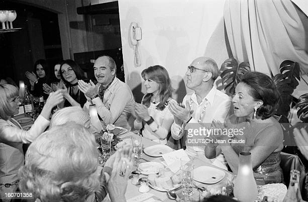 Albert Debarge Marries Josianne Rousset In Sainttropez SaintTropez 14 Avril 1969 Lors du mariage d' Albert DEBARGE et Josianne ROUSSET Eddie BARCLAY...