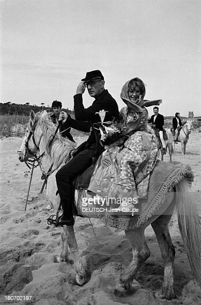 Albert Debarge Marries Josianne Rousset In Sainttropez SaintTropez 14 Avril 1969 Lors de leur mariage Albert DEBARGE et Josianne ROUSSET en robe...