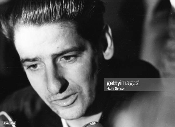 Albert Desalvo American sex offender and selfconfessed 'Boston Strangler' just after his escape from mental hospital and subsequent recapture