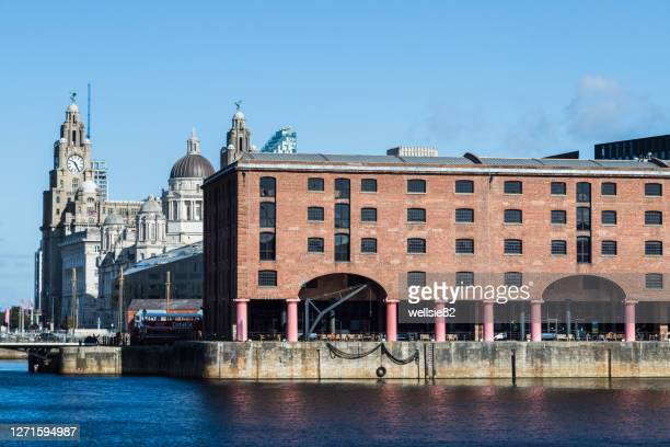 albert dock and liverpool waterfront - cultures stock pictures, royalty-free photos & images